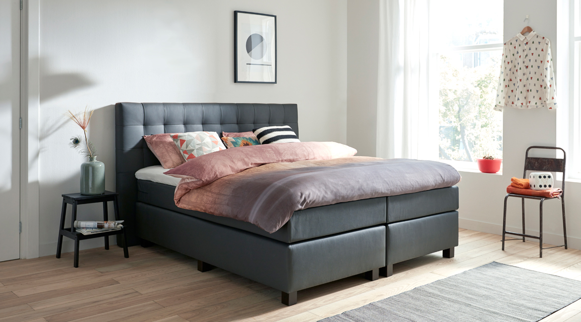 boxspringbetten in k ln kaufen mit expertenberatung vor ort. Black Bedroom Furniture Sets. Home Design Ideas